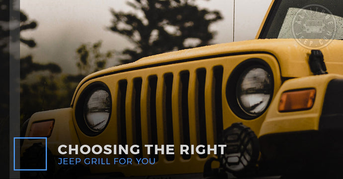 Choosing The Right Jeep Grill For You