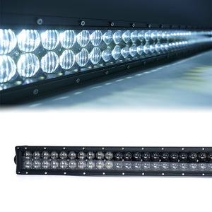 Nova 5D 288W 50'' LED Light Bar & Windshield Mounting Bracket Kit - Altitude Jeep