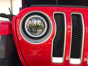X1 - JL RGB Angel Eye Halo CREE LED Headlights - All In One Solution - 2018+ Jeep Wrangler JL/JLU