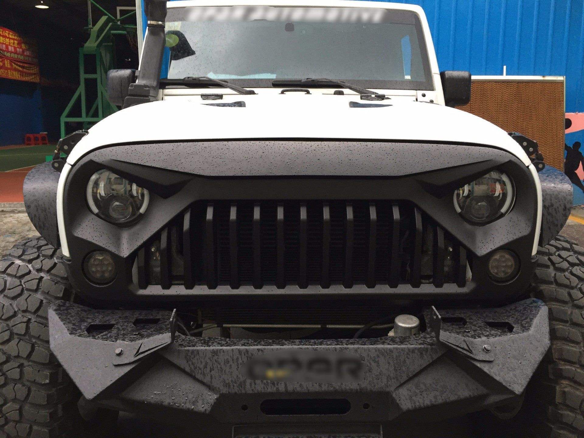 """Jeep Wrangler Tires And Rims >> JK Gladiator """"Vader"""" Grill – Altitude Jeep"""