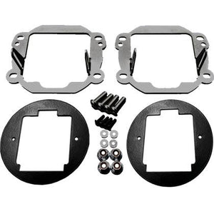 Rigid Industries '07-'15 Jeep JK Fog Light Mounting Kit - Altitude Jeep