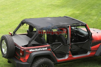 2010-2017 Mesh Wrangler Teddy Top - Altitude Jeep