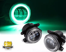 Halo LED Fog Lights - Altitude Jeep