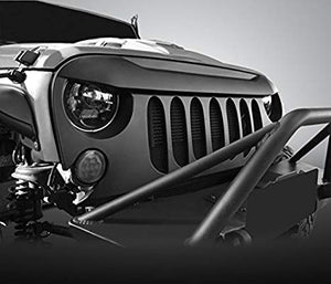 Gladiator Big Brow Beast Grille or Beast V2 for '07-'18 JK JKU Jeep Wrangler