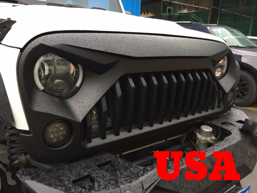 "4 Door Jeep Wrangler For Sale >> JK Gladiator ""Vader"" Grill – Altitude Jeep"