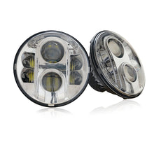 G4 120W Chrome LED Headlights for Jeep Wrangler ('07-'17) Gen 2 - Altitude Jeep