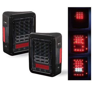 G1 LED Brake Light & 3rd Brake Light Combo for '07-'17 Jeep Wrangler - Altitude Jeep