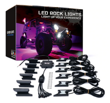 Z Factor RGB LED Rock Lights with Remote-Generation 2