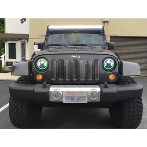 Jeep JK 4 Door 300W 52'' LED  Light Bar - Altitude Jeep