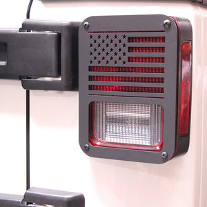 Taillight Covers for '07-'17 Jeep Wrangler JK - Altitude Jeep