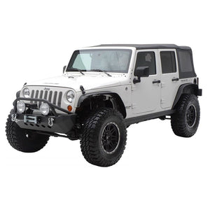 JK Flat Top Fenders - Altitude Jeep
