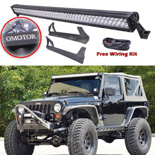 Jeep JK 2 Door 300W 52'' LED Light Bar - Altitude Jeep