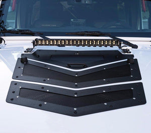 Venom Hood Louver & Vents for '07-'17 Jeep Wrangler JK - Altitude Jeep