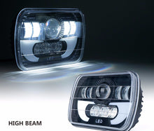 "7100 Evolution 5x7"" CREE LED YJ/XJ Headlight W/ DRL - Altitude Jeep"