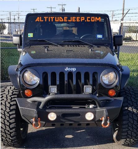 Altitude Jeep Front Windshield Decal - Altitude Jeep