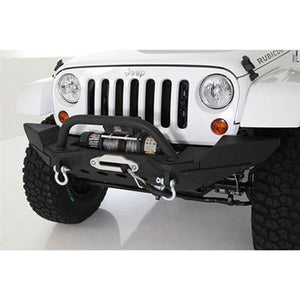 Smittybilt XRC M.O.D. Modular Center Section with Winch Plate and D-ring Mounts (Black) - Altitude Jeep