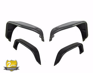 Fury Series Front & Rear Aluminum Fenders for '07-'17 Jeep Wrangler - Altitude Jeep