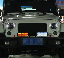 Half Moon Halo Headlights - Altitude Jeep