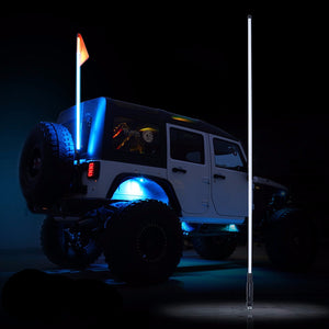 5ft LED Flag Pole/Safety Whip – Alude Jeep Off Road Light Wiring Diagram Whips on