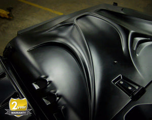 Beast Fiberglass Hood for '07-'18 Jeep Wrangler - Altitude Jeep