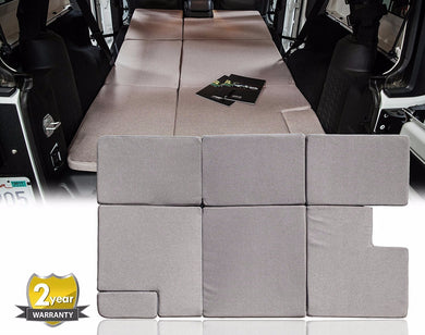 NitePad® Premium Portable Sleeping Pad Cushion for Jeep Wrangler 4 Door - Altitude Jeep