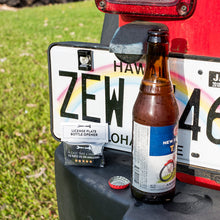 Rear License Plate Mounted Bottle Opener Tailgate Accessory - Altitude Jeep