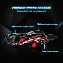 "4"" 18W Flood Pods (2pcs) w/ Wiring Harness - Altitude Jeep"