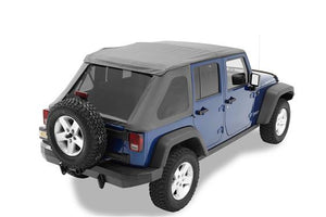 TREKTOP NX Soft Top for '07-'17 Jeep Wrangler 2/4 Door - Altitude Jeep