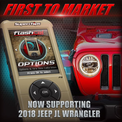 Superchips Flashcal F5 Programmer 2018+ JL Jeep Wrangler 3.6L