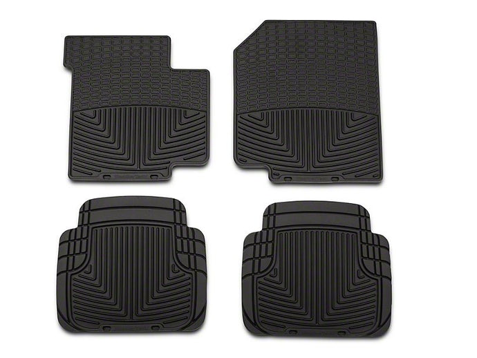 Weathertech All Weather Front and Rear Rubber Mats (1987-'95 Wrangler YJ) - Altitude Jeep