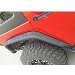 Aluminum Tube Fenders Front & Rear (Set of 4) - Altitude Jeep