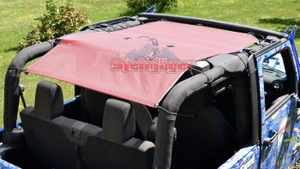 2010-2017 Fabric JK 2 Door Wrangler Teddy Top - Altitude Jeep