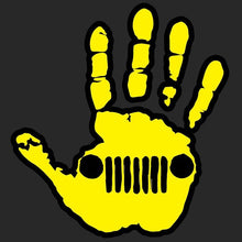 Jeep Wave Decal - Altitude Jeep