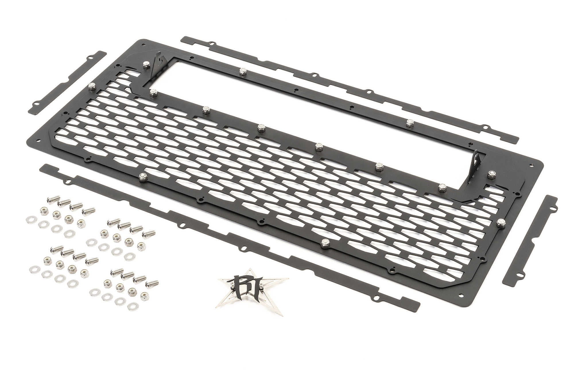 Rigid Industries E Series LED Grille for '07-2018 JK/JKU