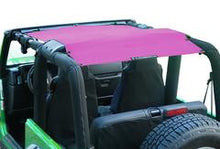 Jeep Wrangler Mesh Sunshade for TJ ('1997-'06) - Altitude Jeep