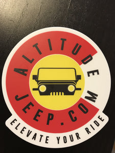 Colorado Proud Sticker (2x) - Altitude Jeep