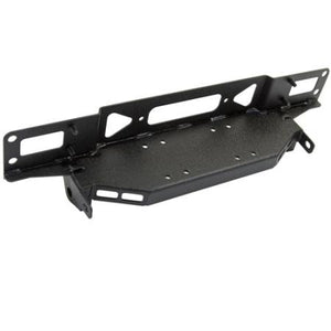 Smittybilt XRC Atlas Front Bumper with Grill Guard and Fog Light Holes (Black) - Altitude Jeep