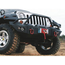 Lifestyle Winch Front Bumper with Grille Guard for '07-'15 Jeep Wrangler JK - Altitude Jeep