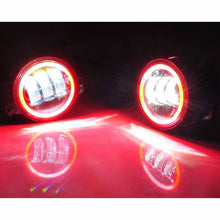 Bluetooth RGB Color Changing Halo LED Fog Lights - Altitude Jeep