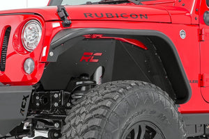 Jeep Wrangler Front and Rear Inner Fender Liners (2007-2017) - Altitude Jeep