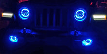 Chasing X2 - JL RGB Angel Eye Halo CREE LED Headlights - All In One Solution - 2018+ Jeep Wrangler JL/JLU