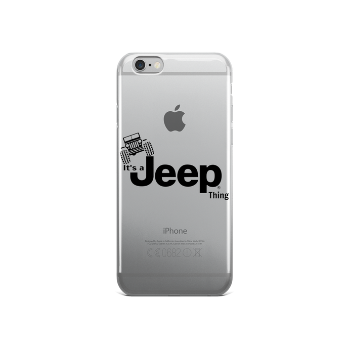It's a Jeep Thing iPhone 5/5s/Se, 6/6s, 6/6s Plus Case - Altitude Jeep