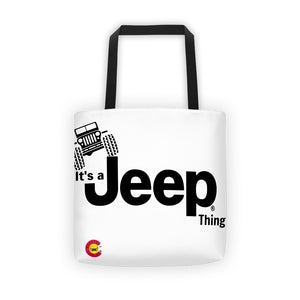 It's a Jeep Thing Tote Bag - Altitude Jeep
