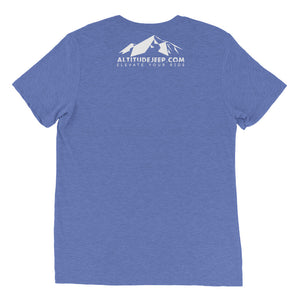 Short sleeve Unisex t-shirt - Altitude Jeep