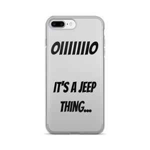 It's a Jeep Thing iPhone 7/7 Plus Case - Altitude Jeep