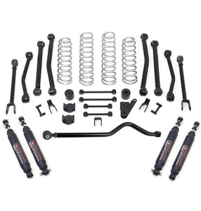 4'' Terrain Flex 8-Arm Lift Kit w/ SST3000 Shocks - Jeep JK Wrangler 2007-2017 - Altitude Jeep