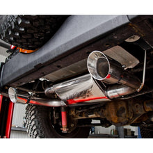"MBRP Aluminum 2 1/2"" Dual Rear Exit Axle Back for '07-'14 Jeep Wrangler - Altitude Jeep"