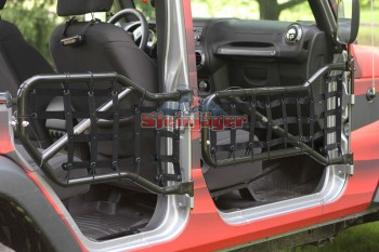 Front & Rear Door Covers/Nets for JK - Altitude Jeep