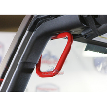Custom Painted JK Front Steel Grab Handles - Altitude Jeep