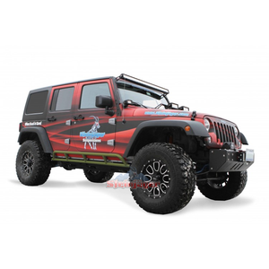 Custom Painted Rock Slider Kit for 4 Door '07-'17 JK - Altitude Jeep